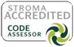 Storma Accreditied logo